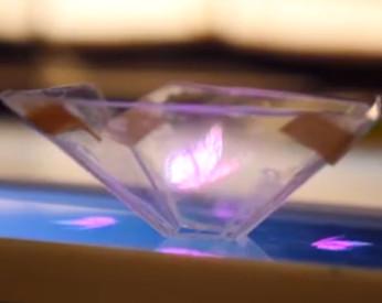 Vídeo ensina você a fazer o seu próprio holograma