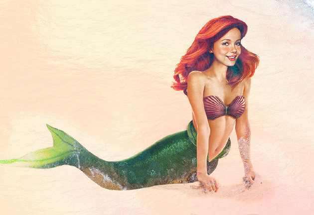 """Ariel, de """"A Pequena Sereia"""""""