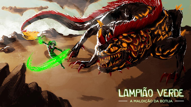 Lampião Verde enfrenta também animais do Sertão