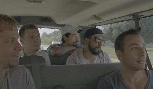 """Backstret Boys - Os bastidores da turnê de retorno da boyband mais famosa do mundo, no registro """"Show 'Em What You're Made Of"""""""