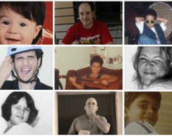 Dia das crianças: Fotógrafos do Diario reproduzem fotos da infância, do analógico ao digital