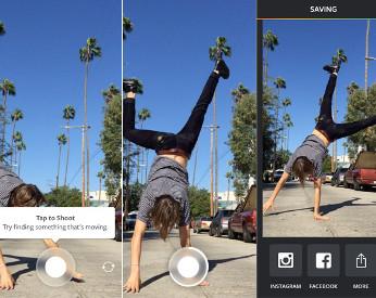 Boomerang: Aplicativo permite transformar séries de fotos em vídeos animados