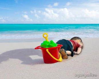 10 artes emocionantes sobre a morte do garoto sírio