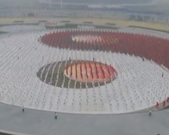 50 mil pessoas se reúnem na China para bater recorde mundial de Tai Chi Chuan