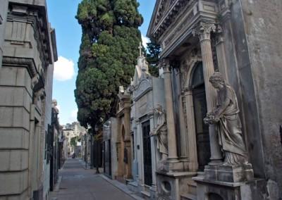 O bairro é um dos mais nobres da capital portenha