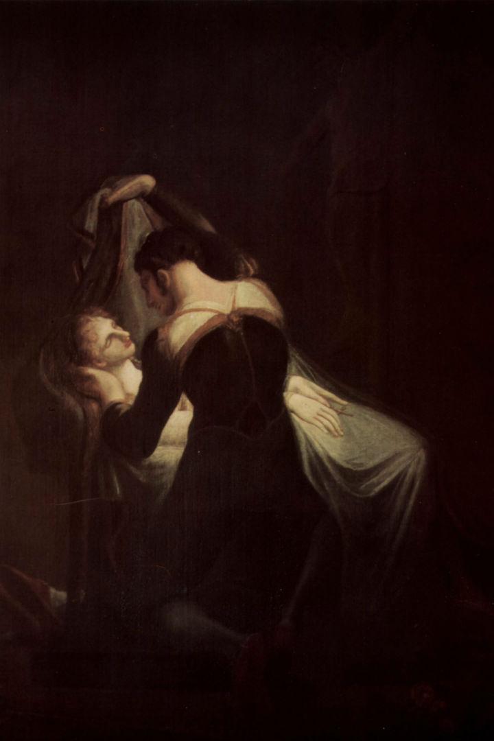 Romeu e Julieta. Pintura de Johann Heinrich Füssli.