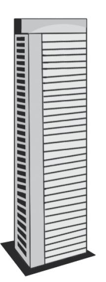140,5 metros - O prédio Jardins Aurora, em construção no bairro de Santo Amaro será o mais alto da cidade, com seus 45 andares. A previsão de conclusão é o ano de 2017