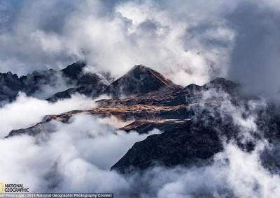 """O Recolhimento das Nuvens"" (Suíça), por Piotr Fedorcyzk"