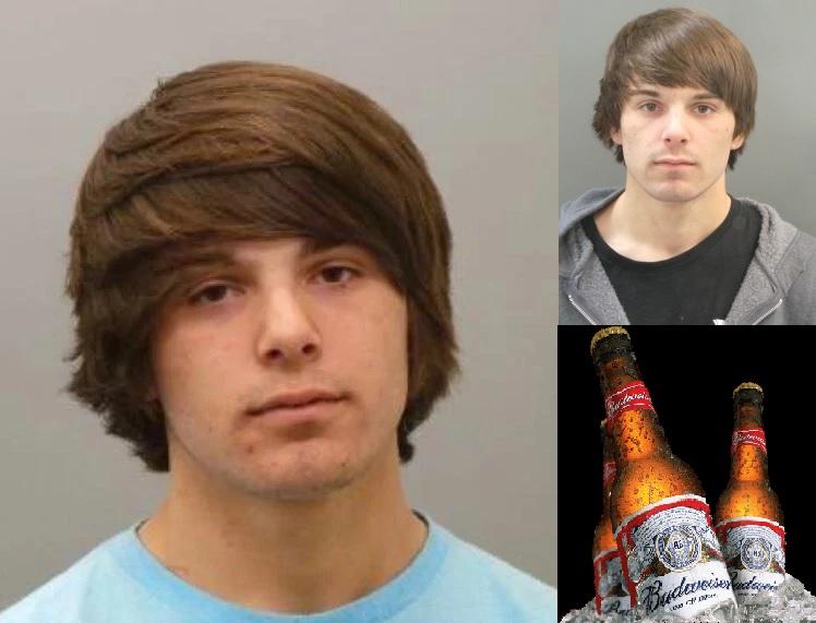 Foto da prisão de Bud Weisser em dezembro de 2014 (esq) e em dezembro de 2015 (dir). Reprodução/Facebook