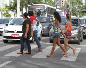 Exceção que deveria ser regra: a faixa de pedestres de Casa Forte