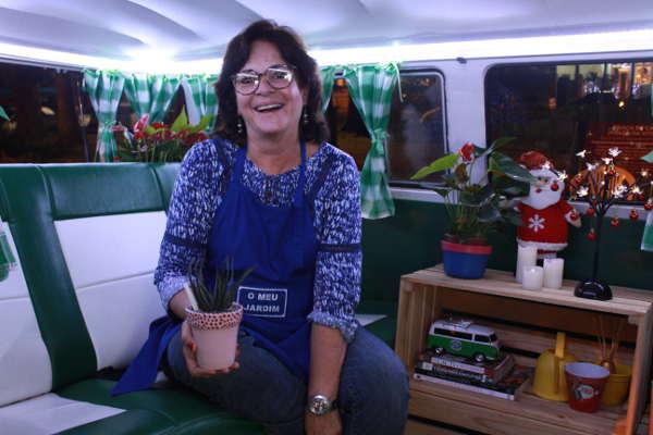 Cláudia Araújo é a responsável  pelo trabalho inovado