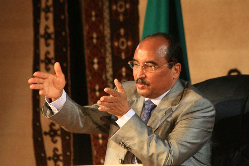 Presidente da Mauritânia. Créditos: Jemal Oumar/creative Commons.