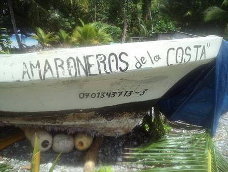 Barco utilizado por Alvarenga. Créditos: Facebook.