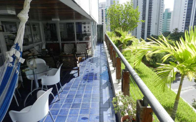 Terraço sem alteração do Villa Mariana. créditos: Isaac Azoubel/cortesia