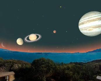 Como ver os cinco planetas alinhados à lua em 5 passos infalíveis