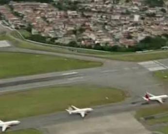 Cachorro invade pista e aeroporto de Congonhas é fechado