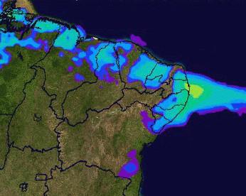 Chuvas fortes seguem ao Sertão, onde choveu até 6x acima da média