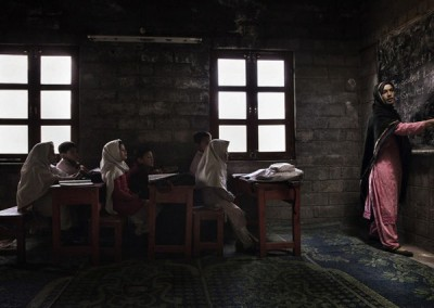 """Na categoria """" Spirit of Travel""""  venceu esta feita em umja escola no norte do Paquistão"""