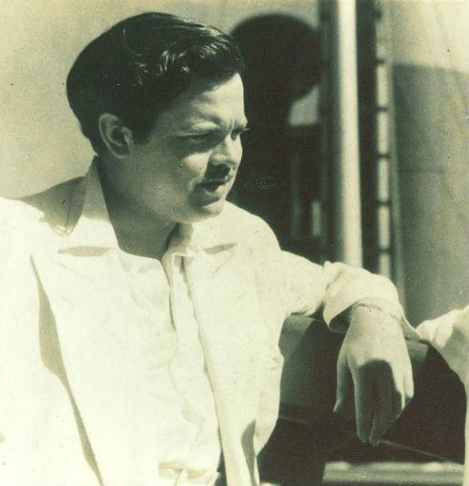 Welles no Recife. Arquivo/DP.