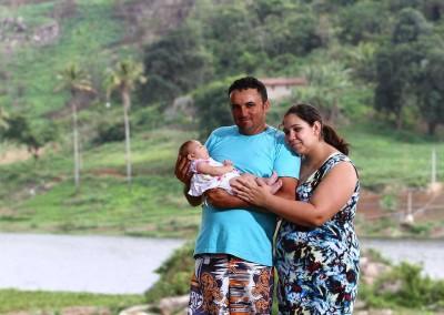 """José Pedro encontrou a frase certa para confortar a mulher: """"Vamos cuidar dela juntos"""""""