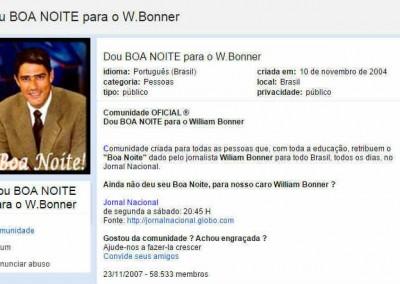 Dou BOA NOITE para o Bonner