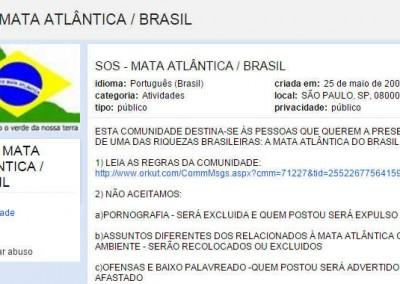 SOS MATA ATLÂNTICA/BRASIL