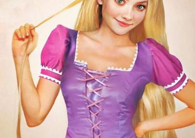 Rapunzel de Enrolados
