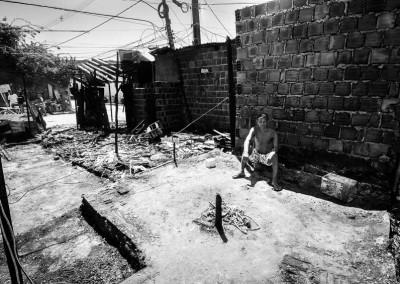 Incêndio na comunidade Construindo Sonhos, no Torreão, por João Velozo