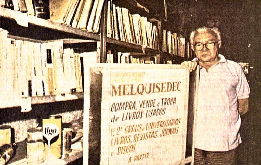 """Melquisedec: recifense foi """"maior livreiro do Brasil"""""""