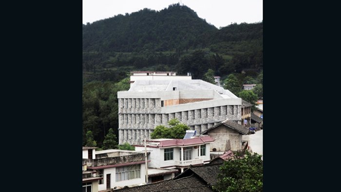 Andong Hospital, Rural Urban Frameworw (Baojing, China)