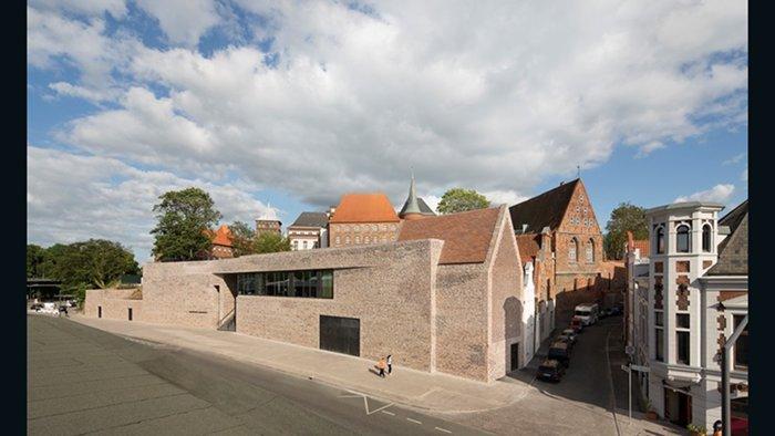 European Hansemuseum, Andreas Heller Architects & Designers (Lubeck, Alemanha)