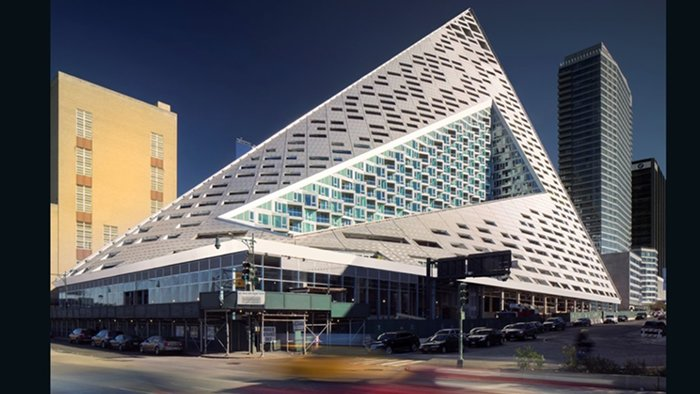 VIA Wesr 57th, Bjarke Ingels Group (Nova York, EUA)