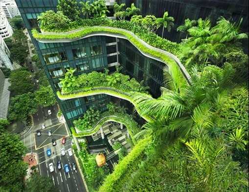 Park Royal on Pickering, WOHA Architects  (Singapura)