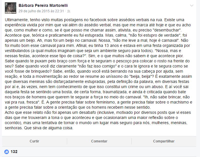 Bárbara Pereira / Facebook