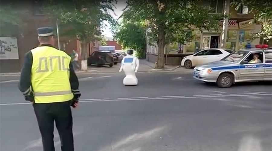 Robô escapa de laboratório e sai pelas ruas da Rússia