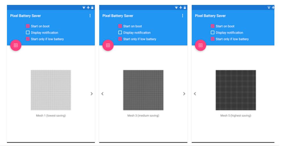 Pixel OFF / Reprodução
