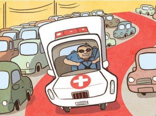 Projeto de faixa preferencial para ambulâncias já foi rejeitado duas vezes no Recife