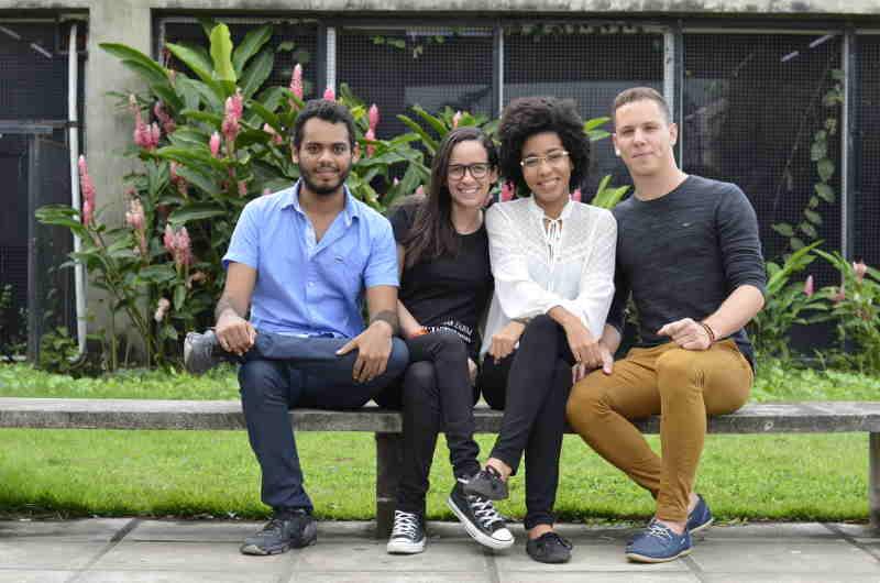 Quatro alunos de Arquitetura e Urbanismo vão apresentar o projeto na China