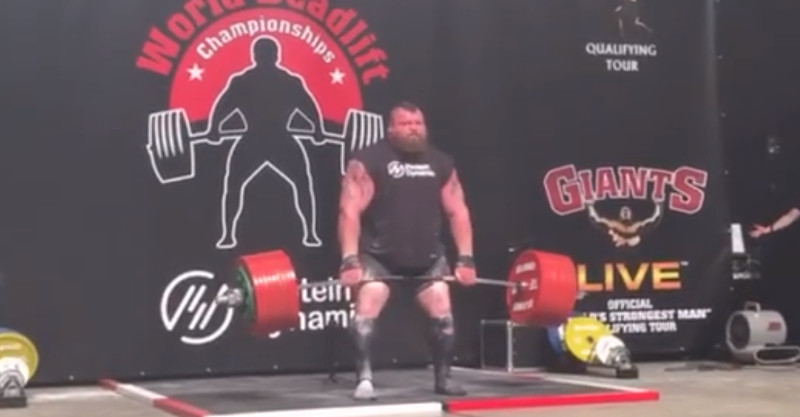 Eddie Hall / Youtube