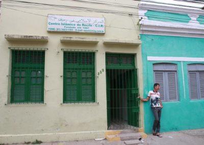 Embaixada da paz na Rua da Glória