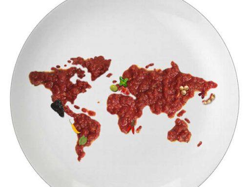 O mundo inteiro no seu prato