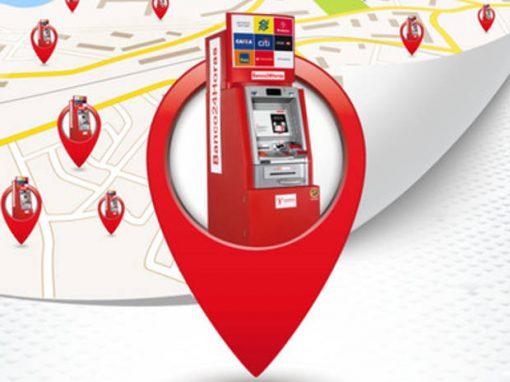 App mostra todos os caixas do Banco 24 Horas disponíveis