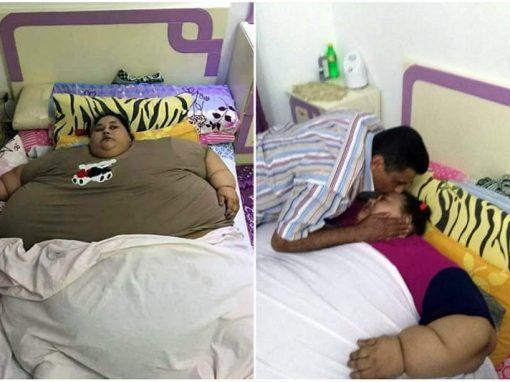 Mulher de 500kg não sai de casa há 25 anos