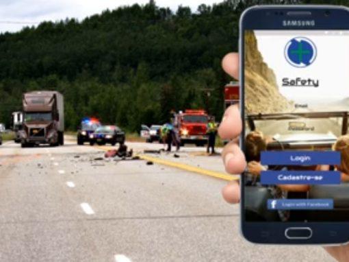 App chama Samu automaticamente em caso de acidente