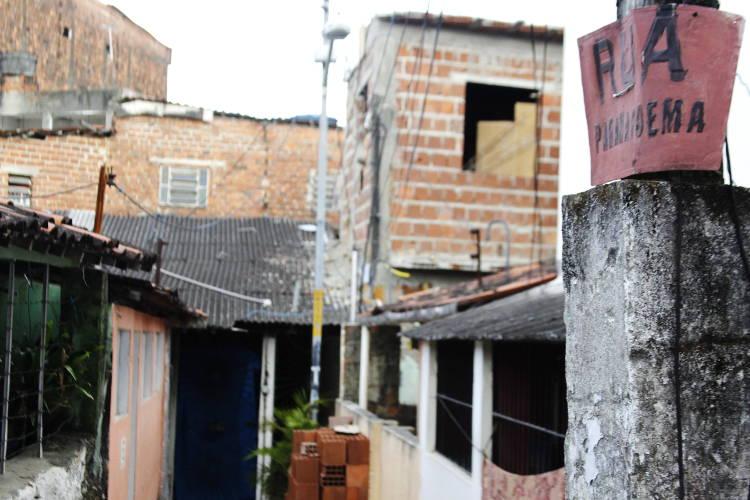 Rua Paranapoema Foto: Shilton Araújo