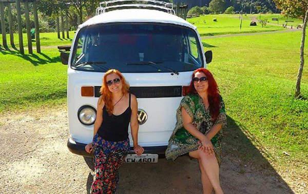 Na estrada com Lucy: colecionando histórias/Facebook
