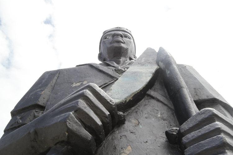 Monumento a Zumbi Foto: Alcione Ferreira/DP