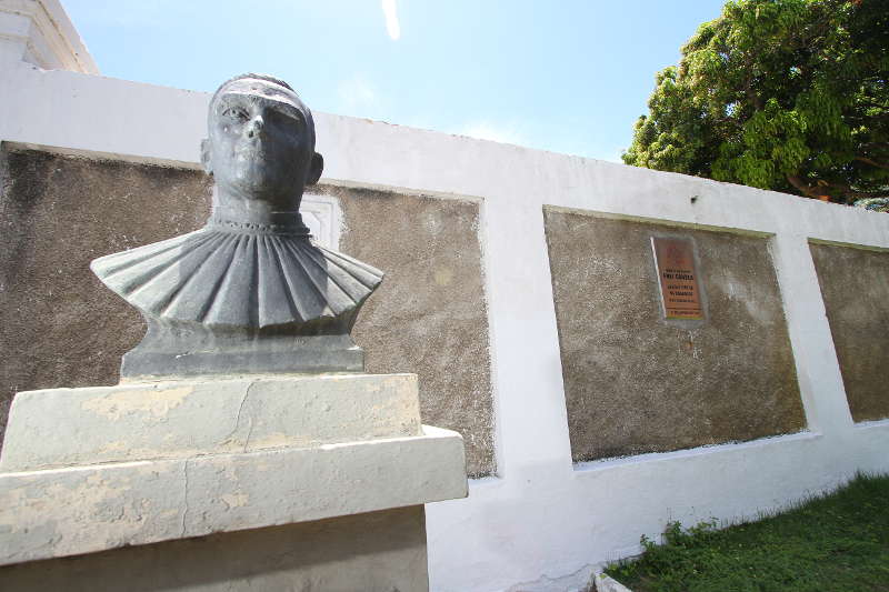 Monumento a Frei Caneca Foto: Paulo Paiva/DP