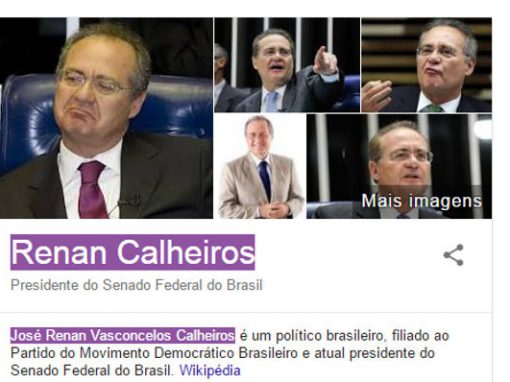 Extensão do Chrome destaca nome de políticos ficha-suja