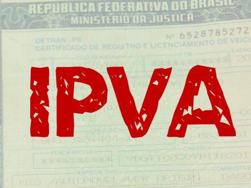 IPVA mais caro de Pernambuco custa R$ 132 mil
